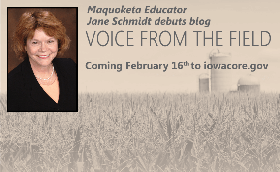 Voice From the Field blog coming soon!